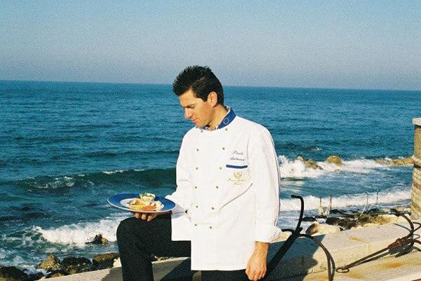Marche:Chef  Paolo Antinori (Hotel Fortino Napoleonico)