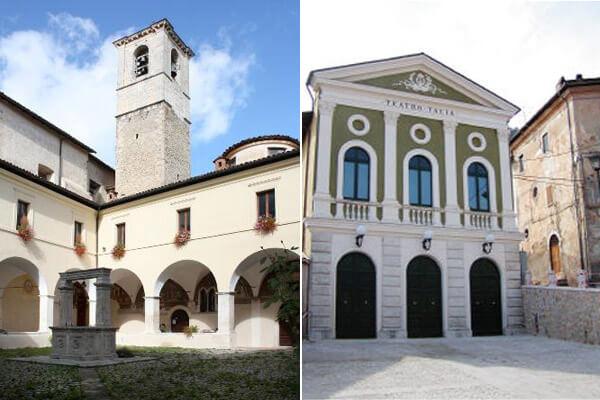 Chiostro di San Francesco e Teatro Talia