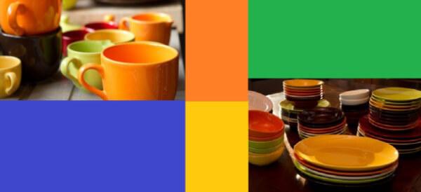 tazze e piatti Pagnossin