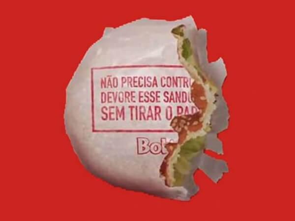 Pellicola per Hamburger fast food brasiliana Bob's