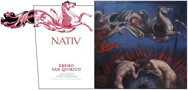 """Eremo San Quirico Aglianico Campi Taurasini, 2011, Nativ - """"Suadente Ispirazione"""""""