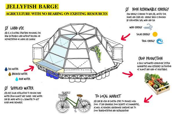 Jellyfish Barge