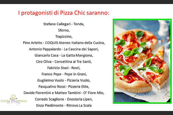 migliori pizza chef