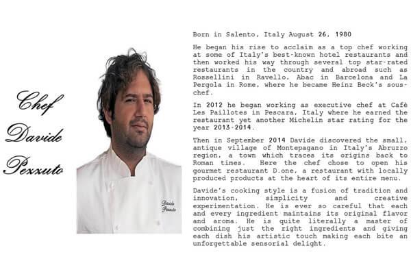 scheda chef Pezzuto english mod