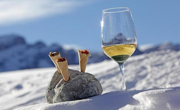 gourmet ski safari