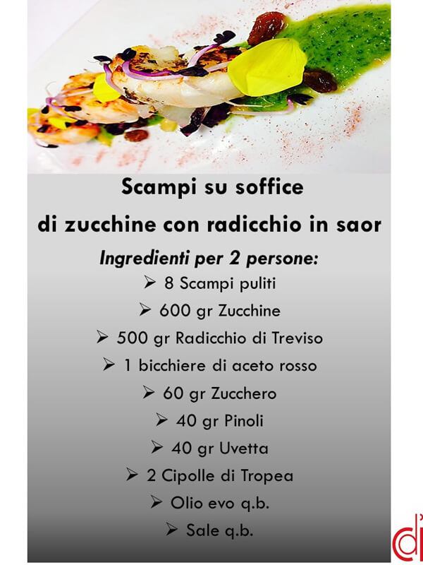 ingredienti scheda gamberi