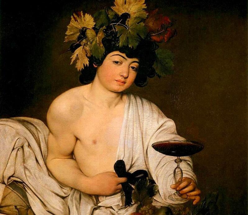 storia del vino bacco