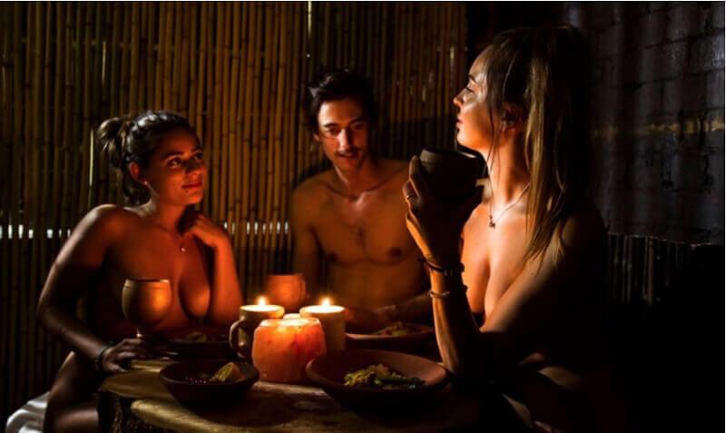 l'italo americano ristorante nudista