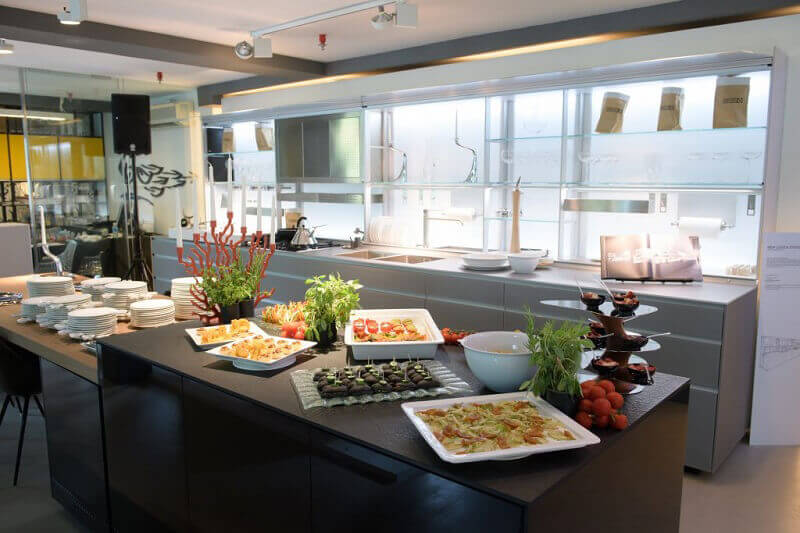 showroom Valcucine Singapore Hong kong