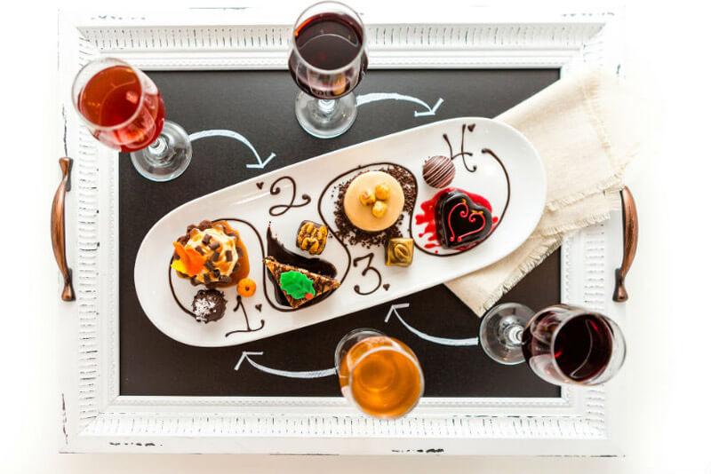 abbinamento vino e dolci