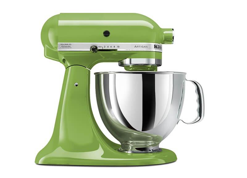 kitchen aid  greenery pantone