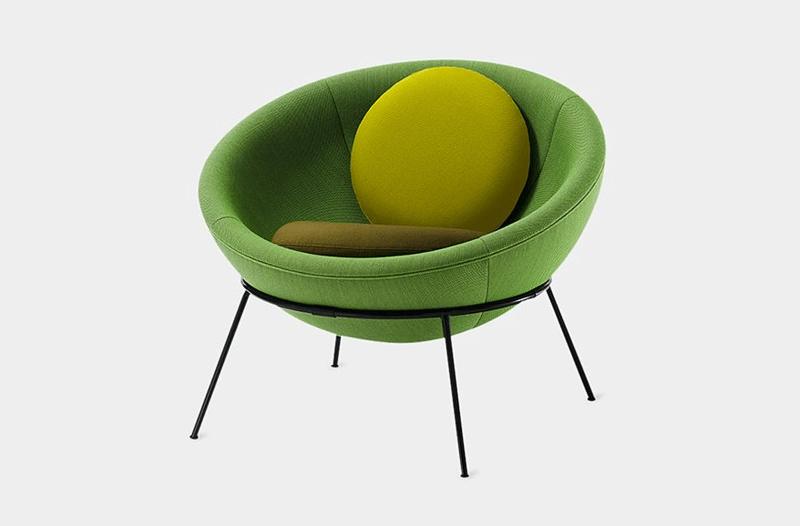 lina bo bardi bowl chair lampada  greenery pantone