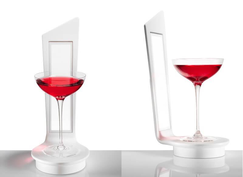 wineoled design per la tavola