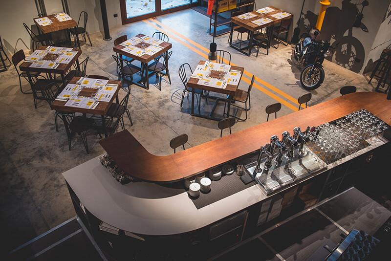 scrambler ducati food factory bologna