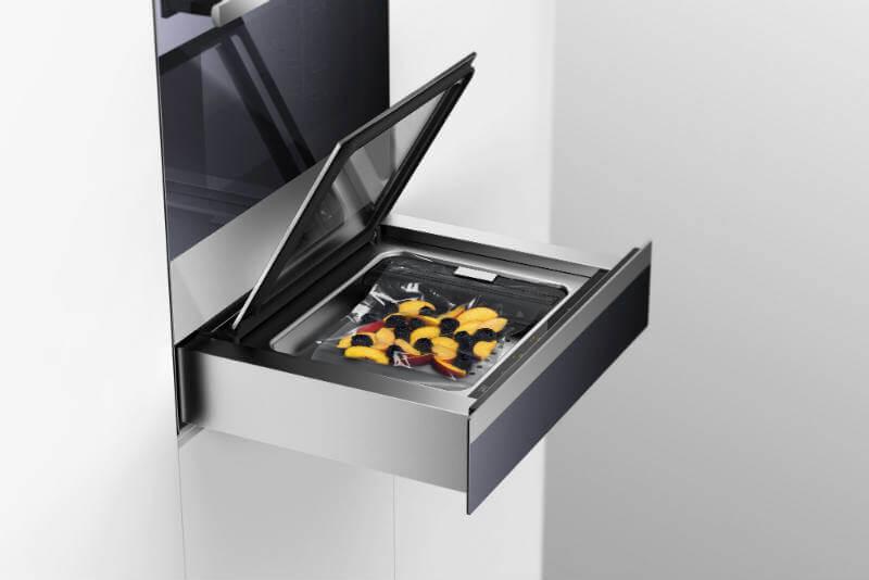 cassetto sottovuoto forno combair steam SL v-zug