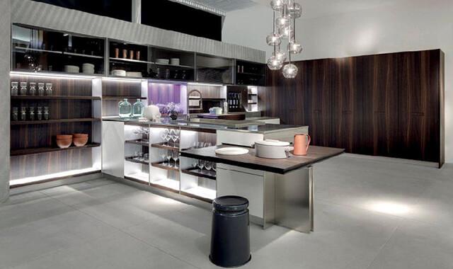 imm cologne e living kitchen 2017 le novit del design cucine d 39 italia. Black Bedroom Furniture Sets. Home Design Ideas