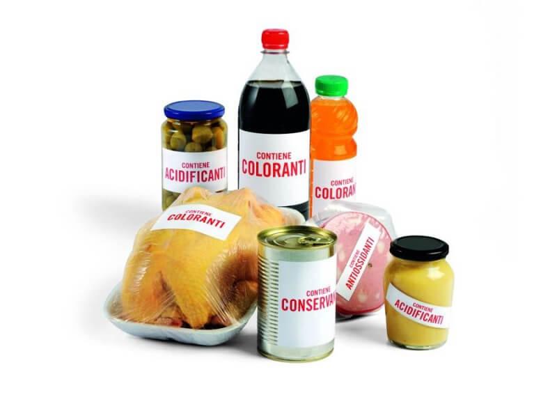 additivi alimentari salute