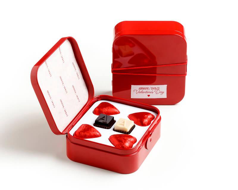 Armani Dolci cioccolatini luxury San Valentino