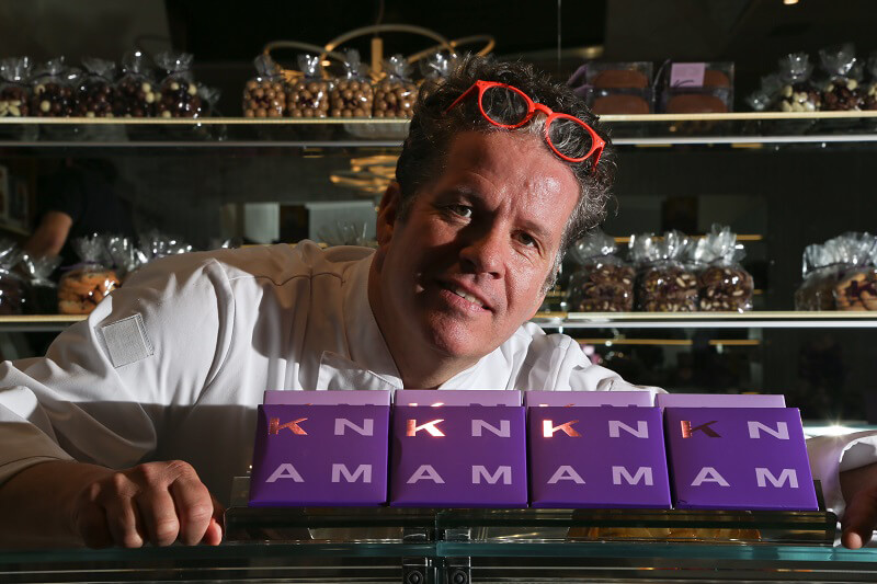 salon du chocolat di milano Ernst Knam