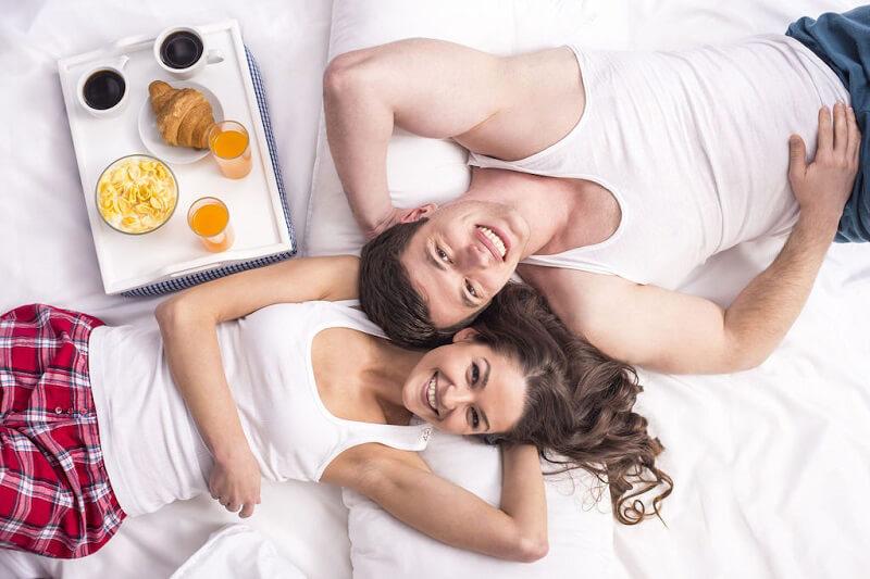 colazione di san valentino colazione a letto