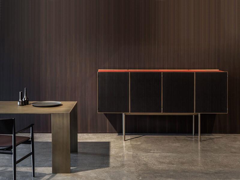cabinet bar porro ipercolore piero lissoni