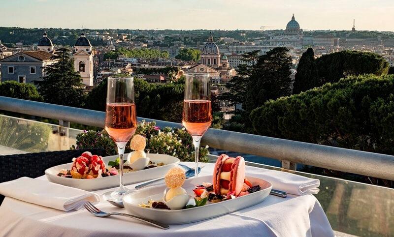 sofitel aperitivo esclusivo roma