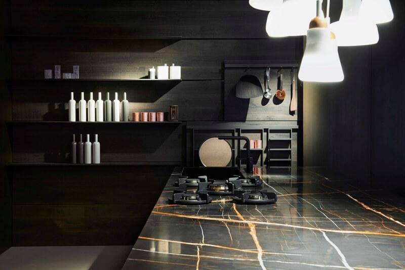 cucina Estivale Key Cucine dettaglio piano in marmo