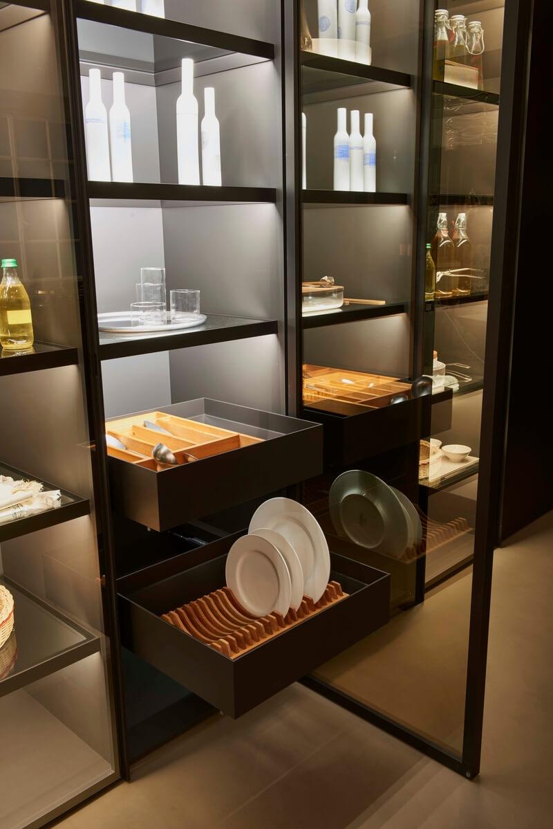 cucina Estivale Key Cucine dettaglio vetrina