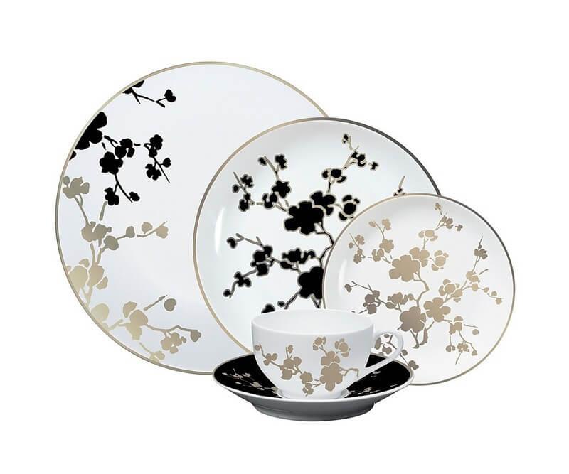 Design per la tavola  di pasqua Piatti Ombrage Raynaud