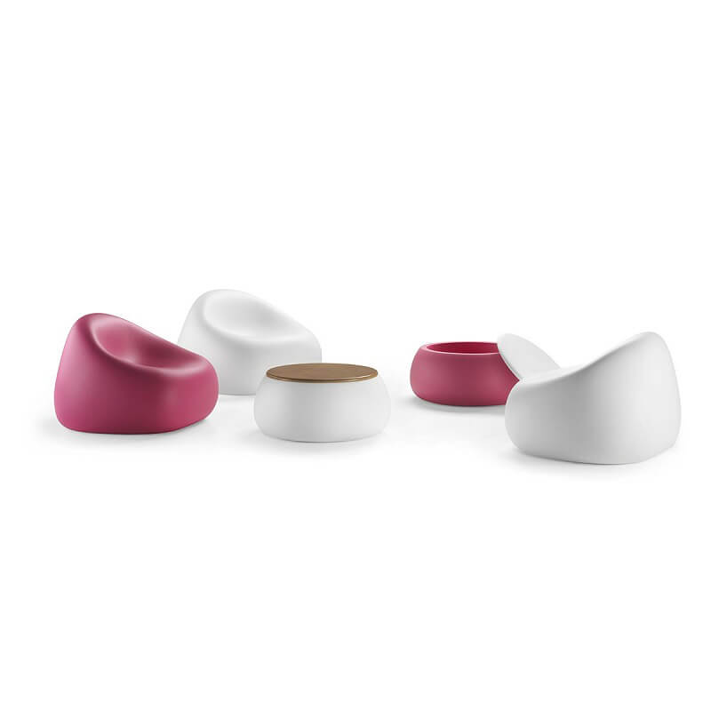 plust collection gumball armachair