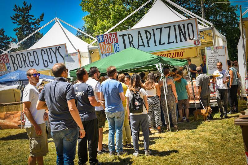 birra del borgo day 2017 trapizzino