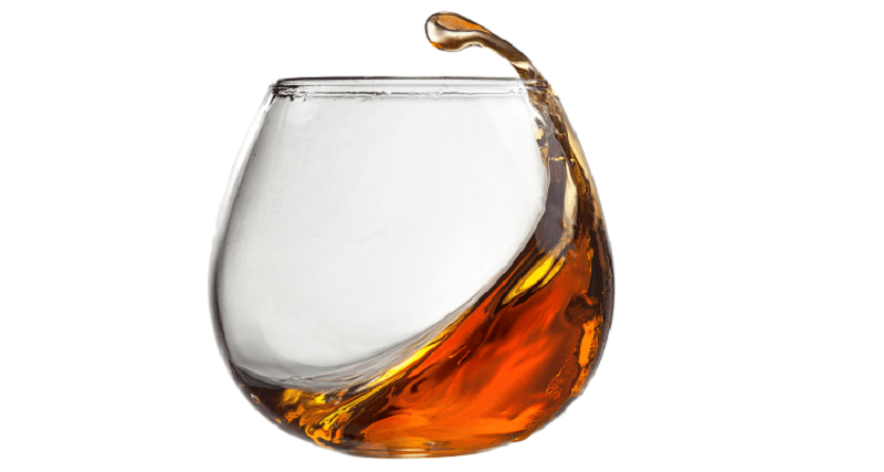 mousse al caffè con cilindro al rum
