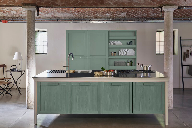 Metalwood Kitchen by Key Cucine