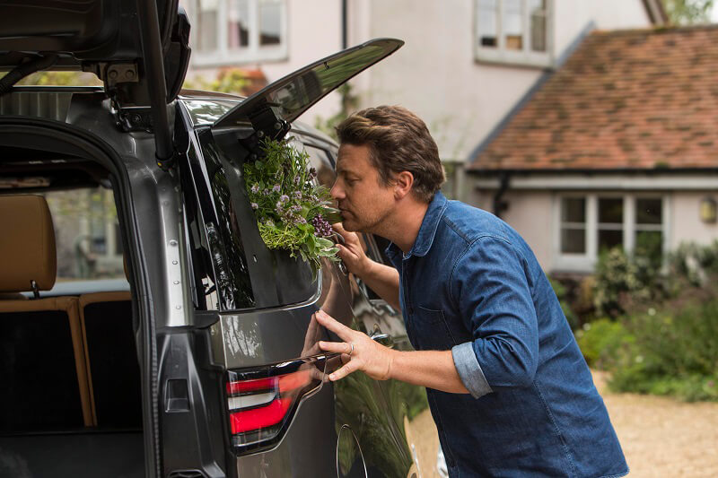 Discovery Land Rover di Jamie Oliver