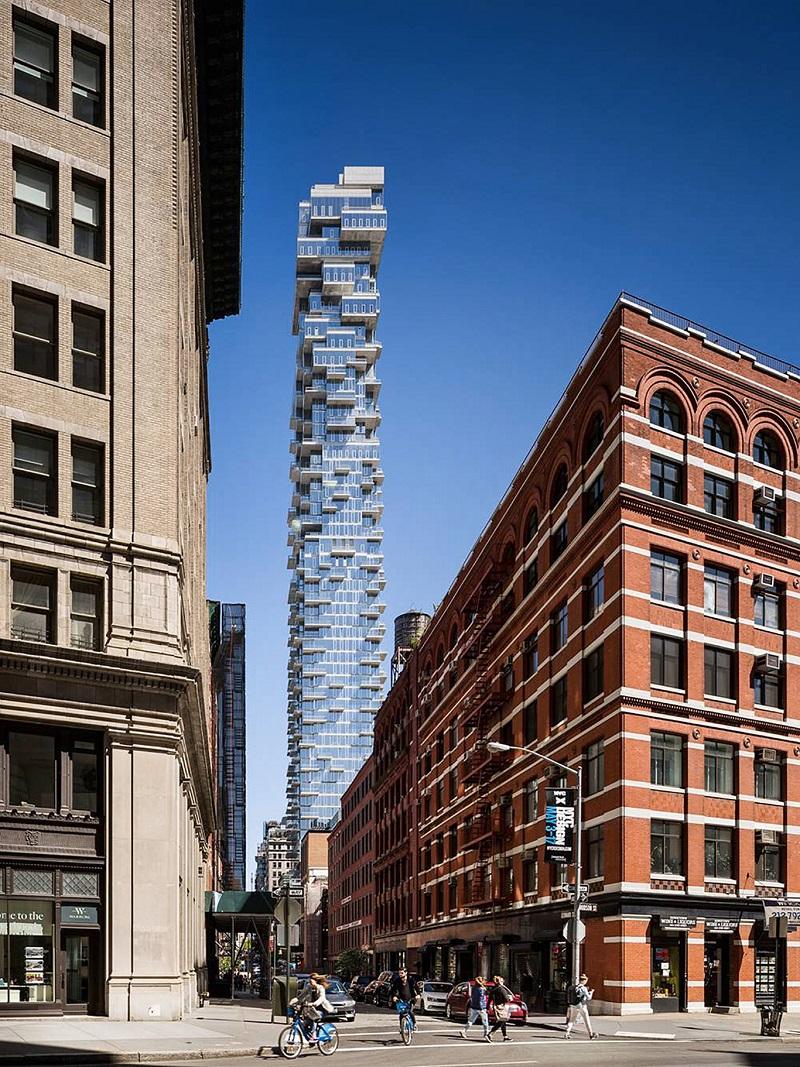 Cucine Dada Contract Division al 56 Leonard Street New York
