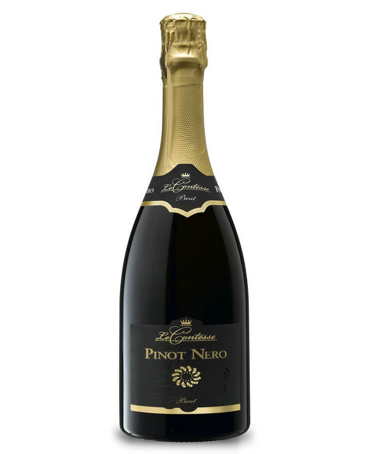 Brindisi di Capodanno Pinot Nero Spumante Brut Le Contesse