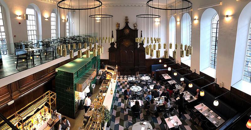 Duddell's restaurant london