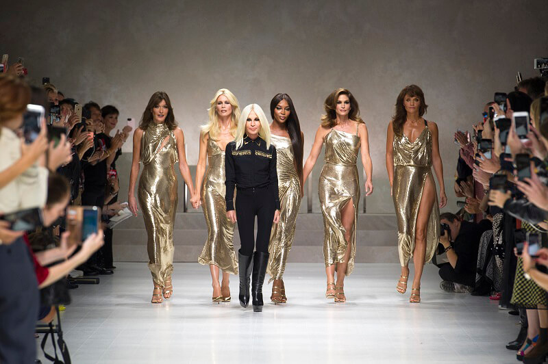 Sedia Vanitas Metal Mesh Versace Home
