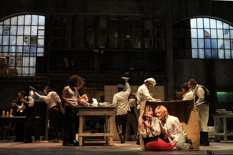Spettacolo La cucina Teatro Eliseo