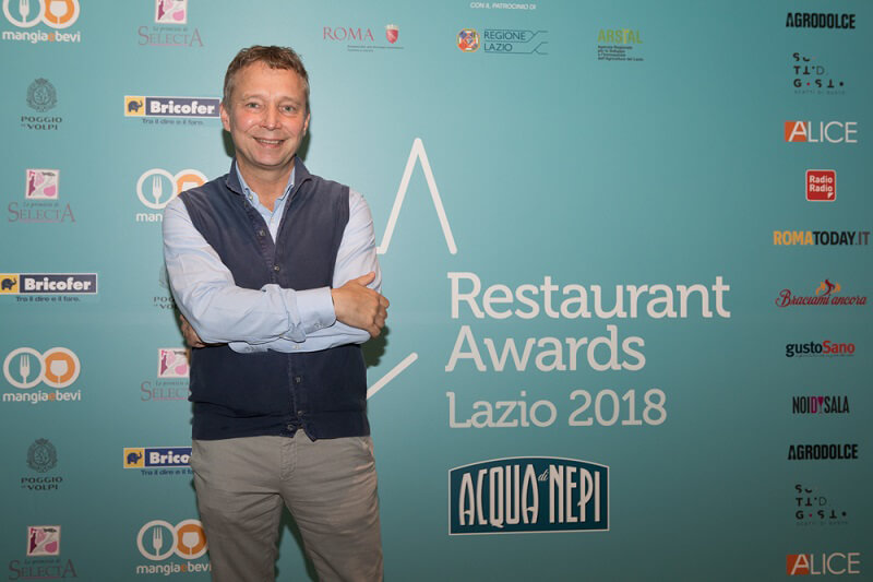 Restaurant Awards Lazio 2018