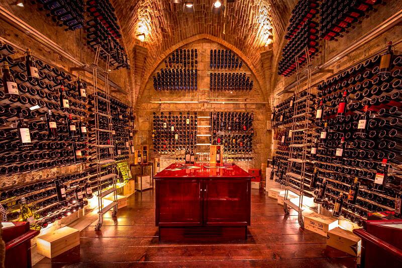 Wine Cellar by Sapordivino