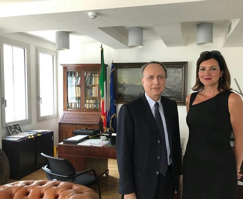 Marco Villani Console Generale d'Italia a Londra