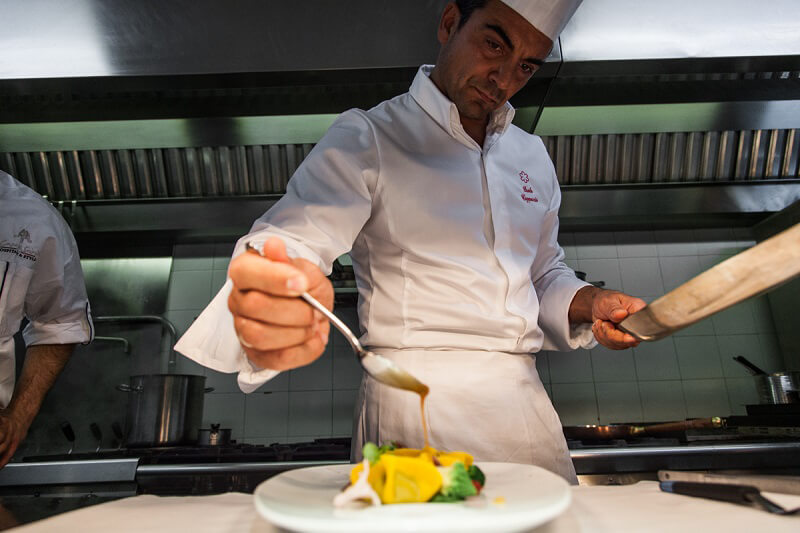 Dining with the Stars Chef Paolo Cappuccio