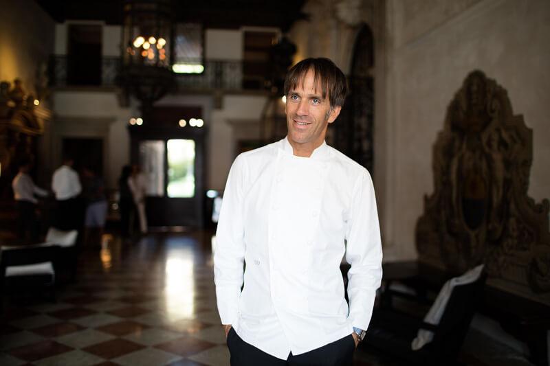 Davide Oldani ad Aman Venice