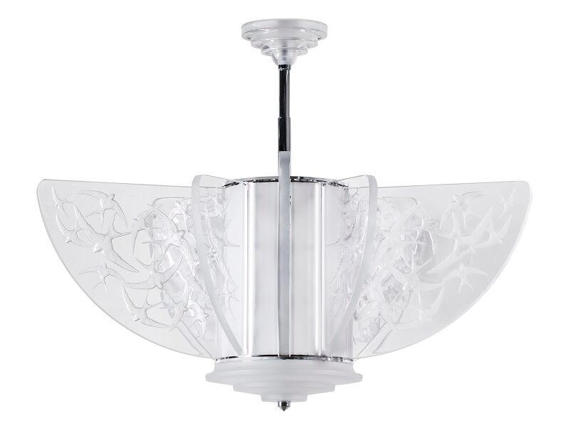 Hirondelles Lalique