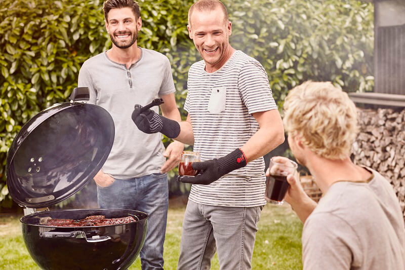 Master Touch Grill Weber