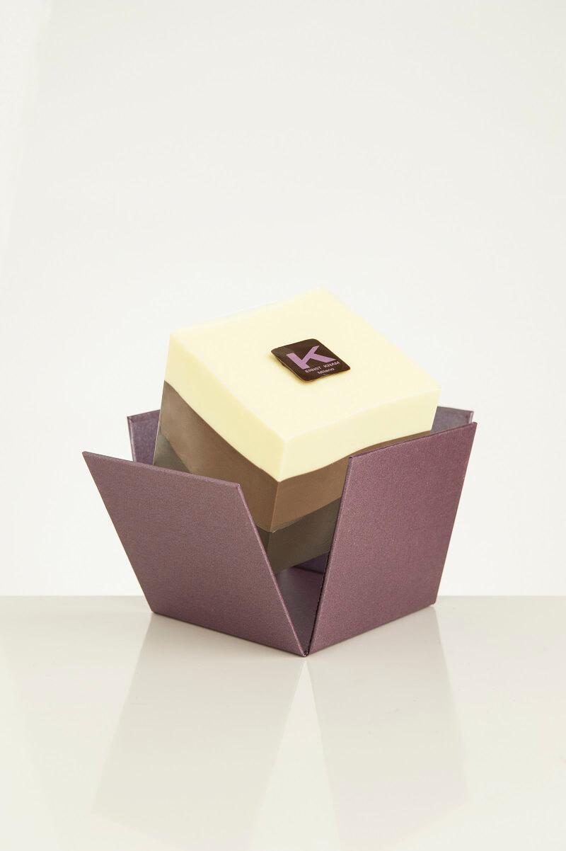Tris Day Ernst Knam Kubo Mousse ai tre cioccolati