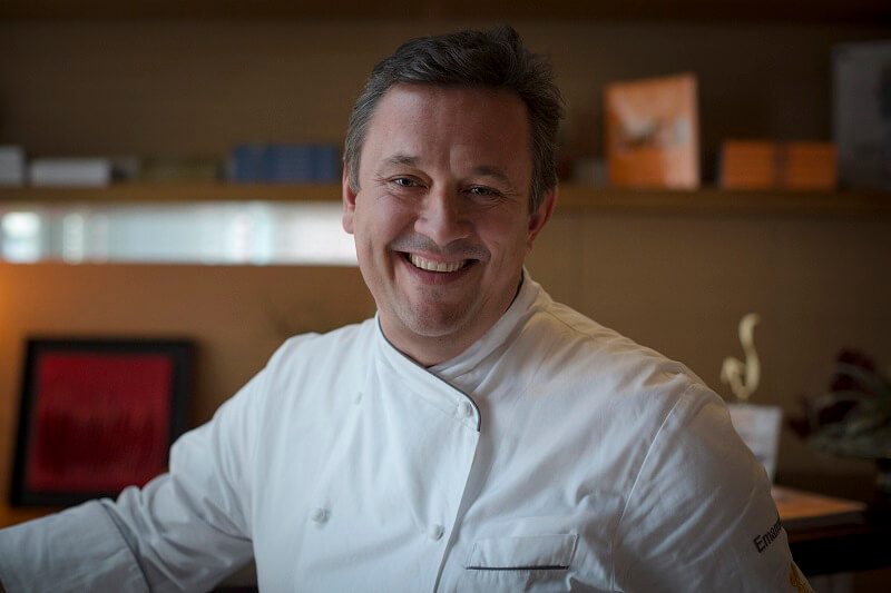 Cena stellata chef Emanuele Scarello