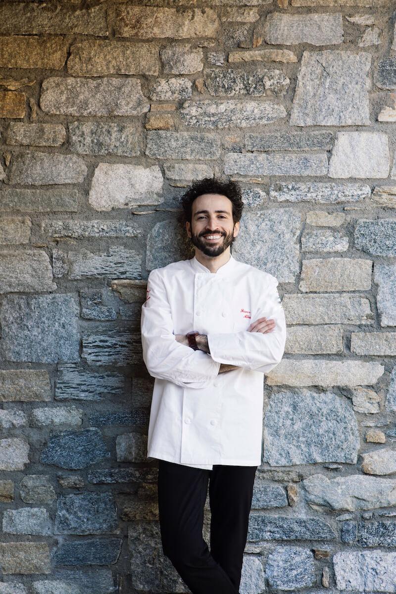 Franco Aliberti Executive Chef Tre Cristi Milano
