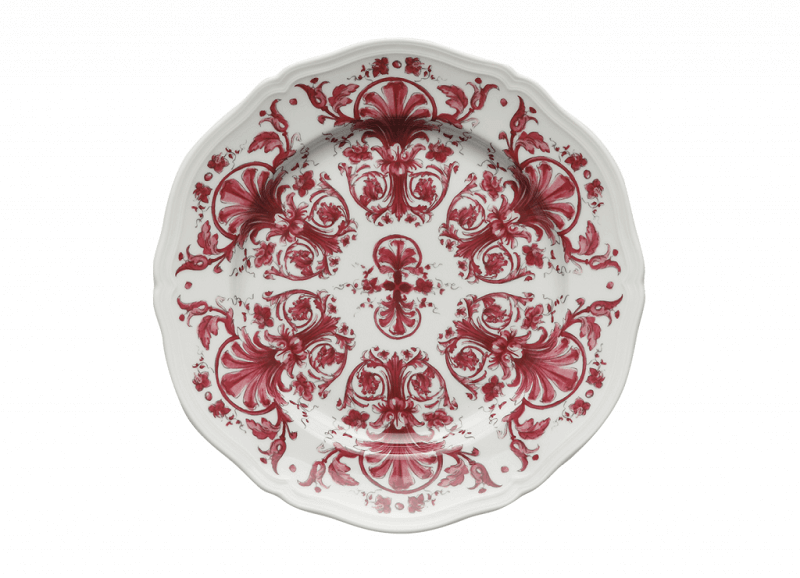 Colore in tavola Dinner Plate Babele Rosso